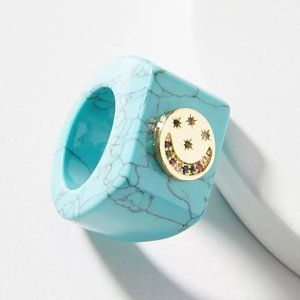 NWT Anthropologie Turquoise Ring | 7